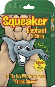 Squeaker Elephant G-String for Men