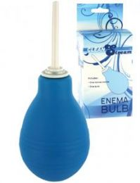 Cleanstream Blue Enema Bulb