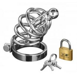 Master Series 4 Ring Chastity Cock Cage