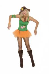 Sunflower Scarecrow Costume (Sizes: Small)