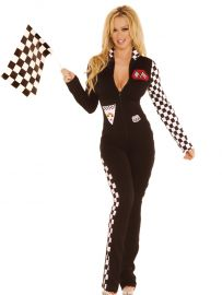 Race Car Driver Costume (Sizes: S/M)