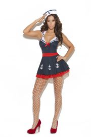 Sailors Delight Costume (Sizes: Small)