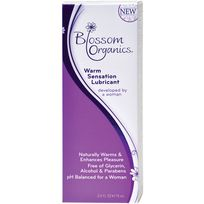 Blossom Organics Warm Sensation Lube (Sizes: 2.5 Oz)
