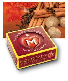 Monogamy Massage Candle (Flavour: Amber/ Oriental Spice)
